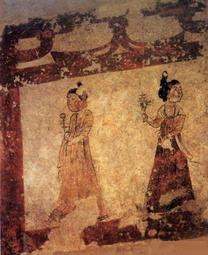 李凤墓壁画中的侍女.png