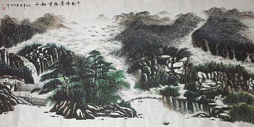 刘世全作品《千秋伟业 稳重如山》规格:122cmx244cm.jpg