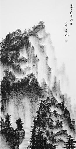 黎文作品 《忘不了的井冈山》 规格:69cmx138cm 创作年代:2019年.JPG