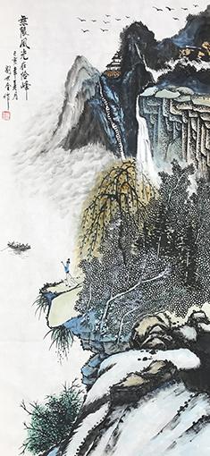 刘世全作品《无限风光在险峰》.jpg