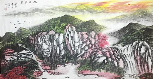 刘世全作品《旭日东昇》.jpg
