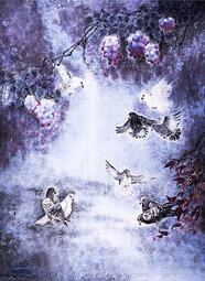 杜利军作品7《梦雪流紫》90X138cm.jpg