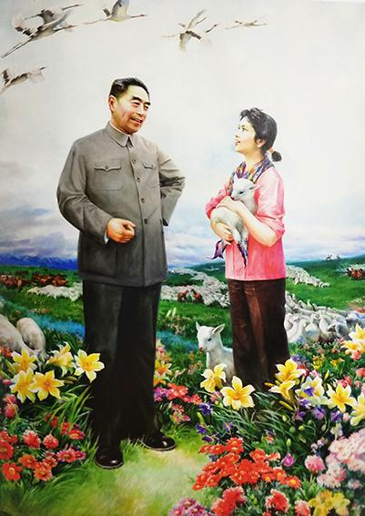 徐震时作品3《草原之春》(与赵幼华合作  全国获奖作品)2008年135cmX96cm.jpg
