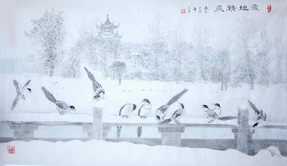 李豪作品 《雪地精灵》.jpg