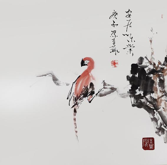马平赫作品5《安居乐业》庚子 马平赫.jpg