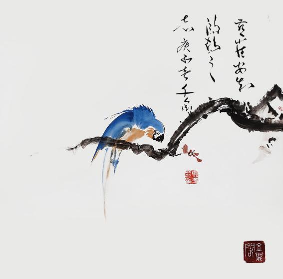 马平赫作品6《燕雀安知鸿鹕之志》庚子春 千金.jpg