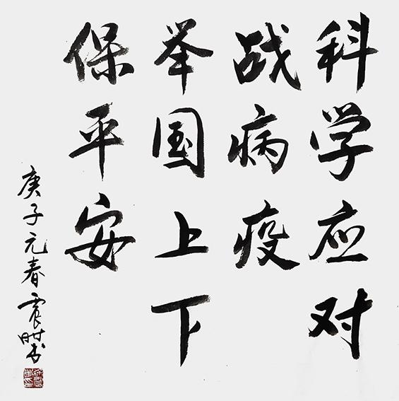 徐震时作品1《科学应对战病疫 举国上下保平安》.jpg
