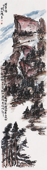 苏凤智作品《将军旗》规格:180cmX48cm.jpg